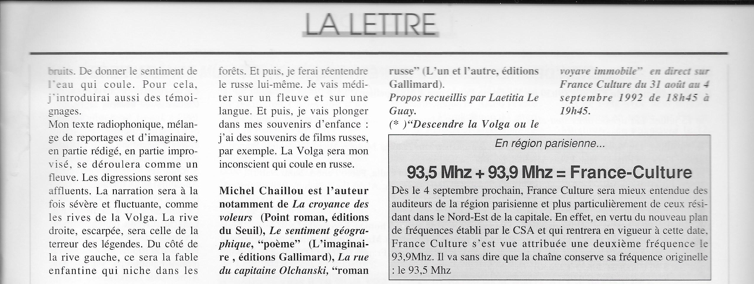 Entretien Avec Laetitia Le Guay Sur Lécriture Radiophonique
